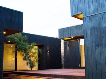 Black Timber cladding