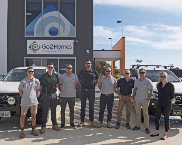 Go2 Homes team photo