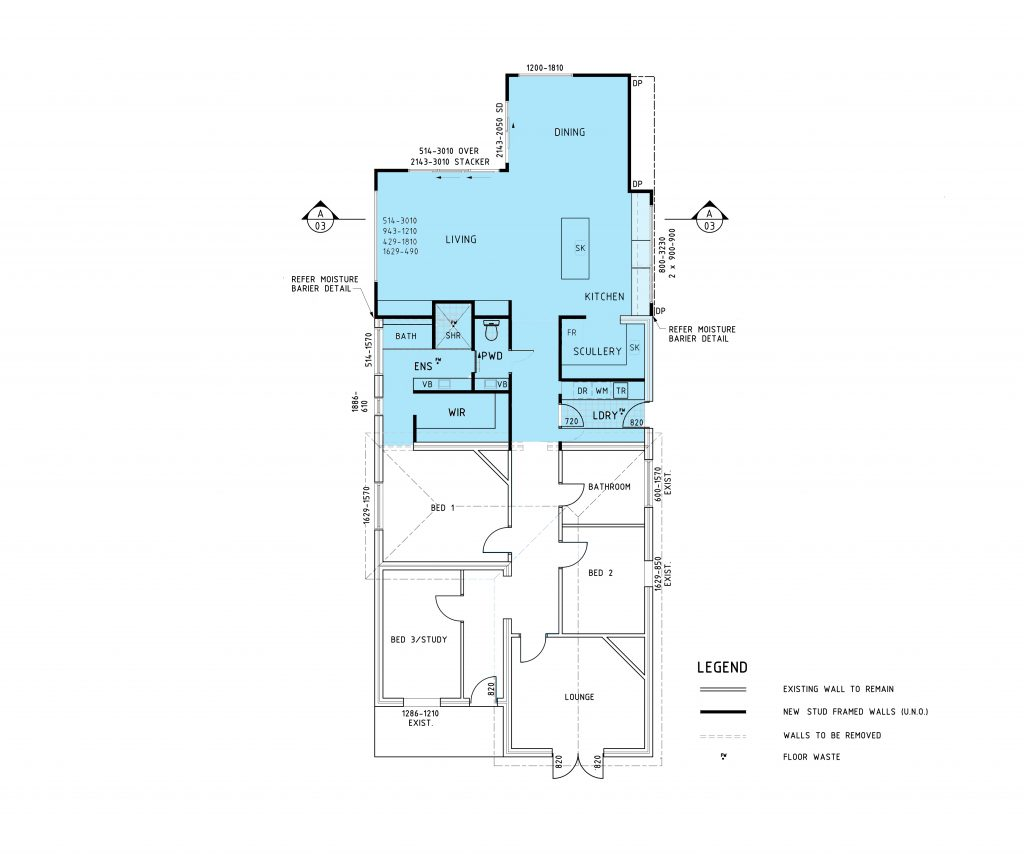 rear home extension cost
